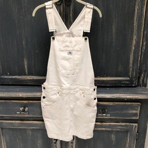 Calvin Klein overall dress